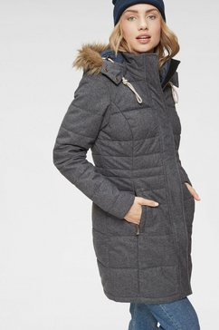 killtec functionele parka »barbara ot« blauw