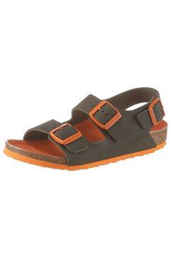 birkenstock sandalen »milano kids« zwart