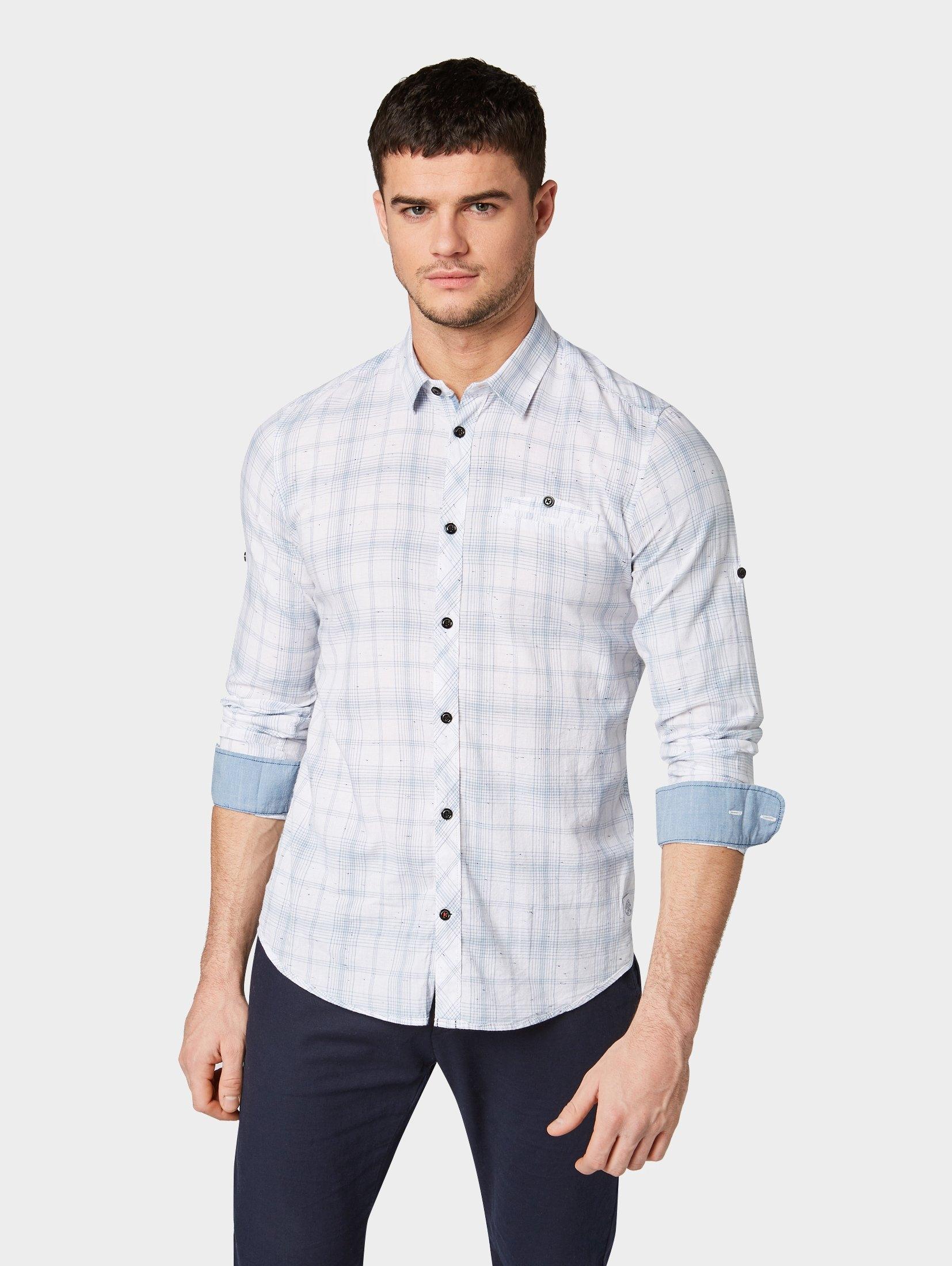 TOM TAILOR overhemd »Geruit overhemd« goedkoop op otto.nl kopen