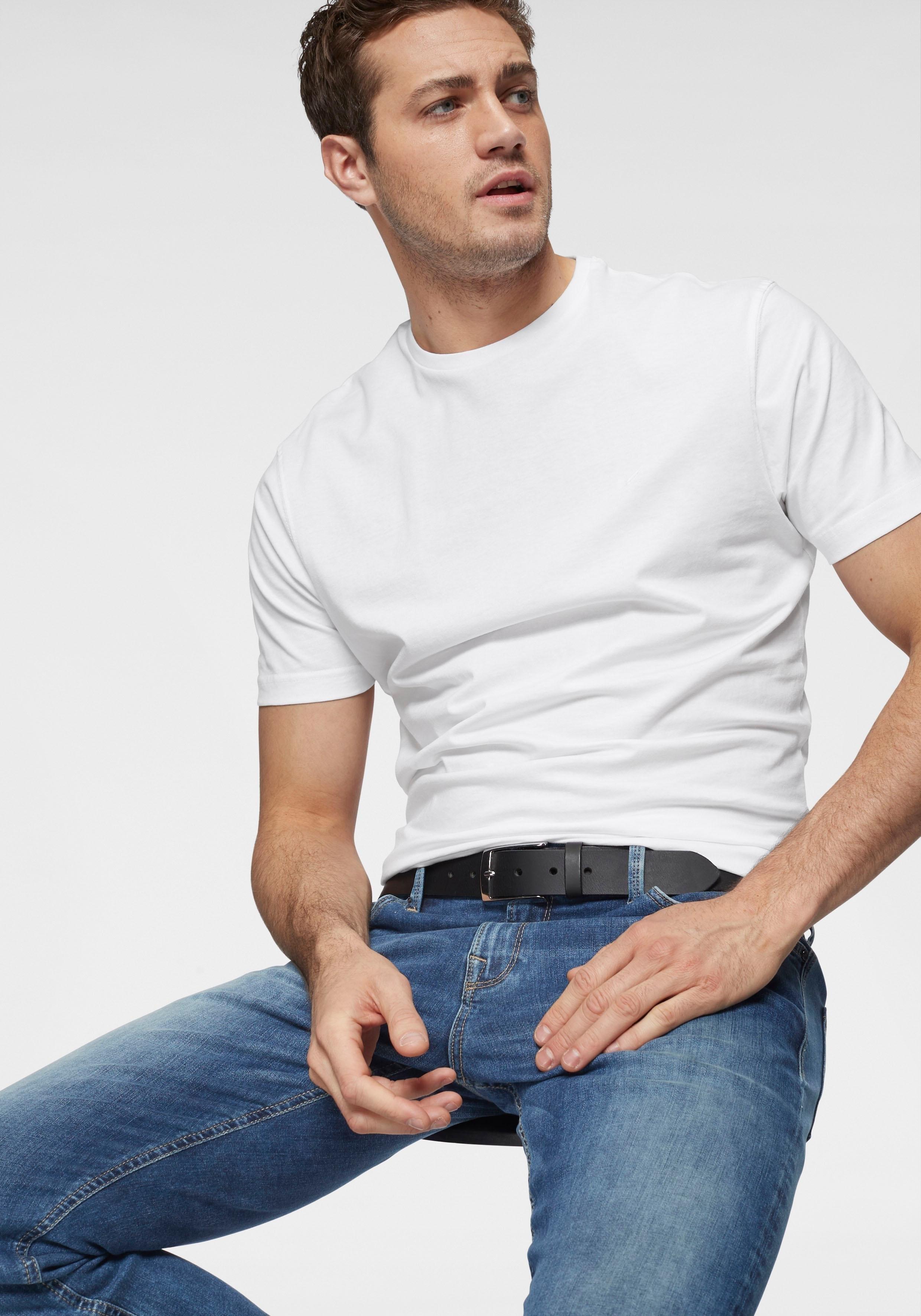 Daniel Hechter T-shirt »set van 2« in de webshop van OTTO kopen