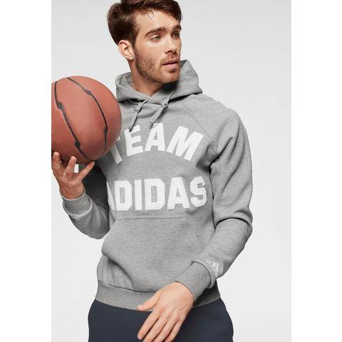 adidas performance sportsweater grijs melange
