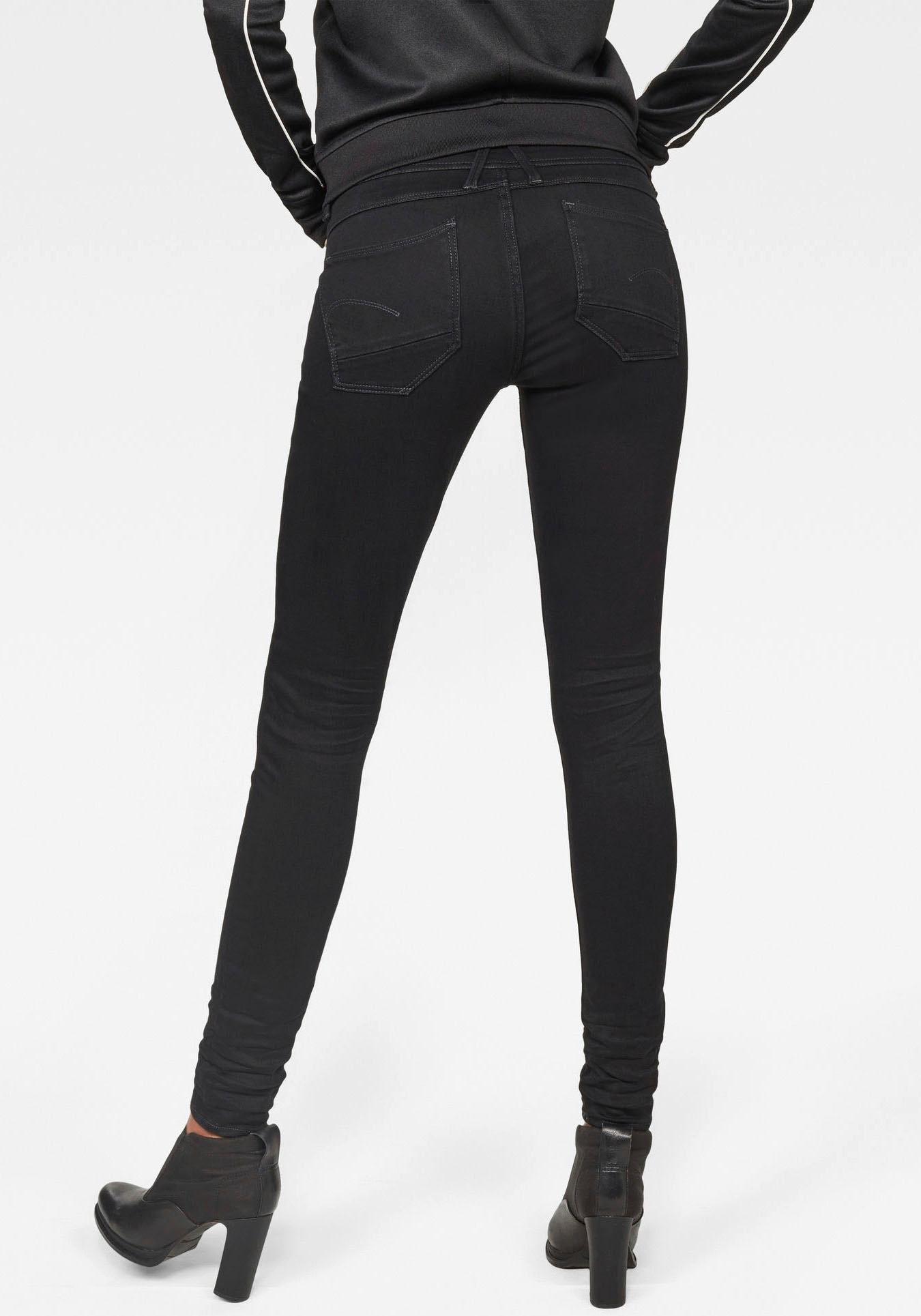 G-star Raw skinny fit jeans »Lynn d-mid Super Skinny« bij OTTO online kopen