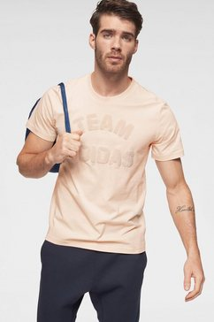 adidas performance t-shirt »varsity t-shirt« beige