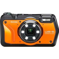 ricoh outdoorcamera wg-6 oranje