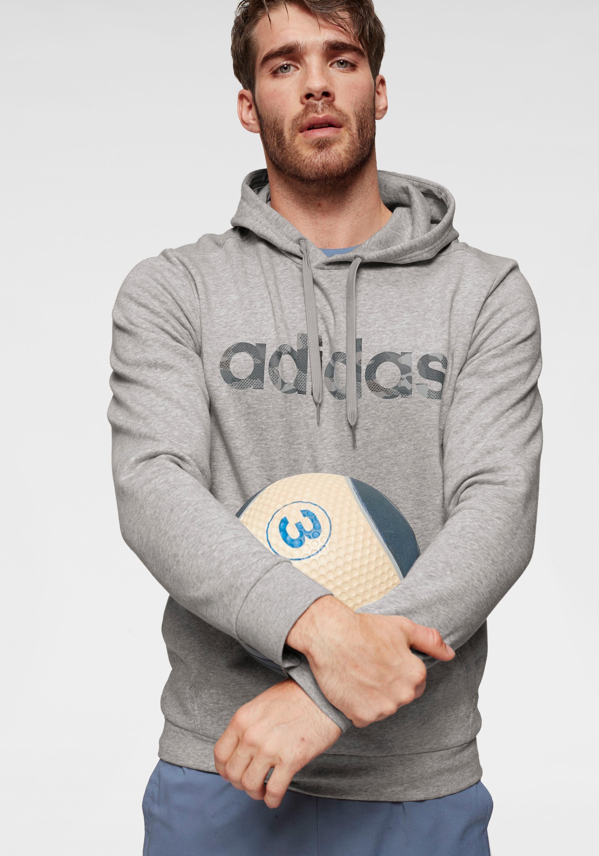 adidas Performance adidas capuchonsweatshirt »E CAMO LINEAR SWEATSHIRT« - gratis ruilen op otto.nl