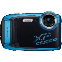 fujifilm »finepix xp140« outdoorcamera (fujinon, 5x optische zoom, f3,9 (groothoek) – f4,9 (tele)) blauw