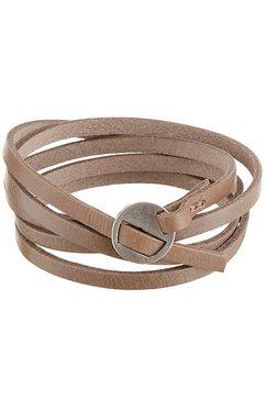 j. jayz armband »in wikkel-look« beige