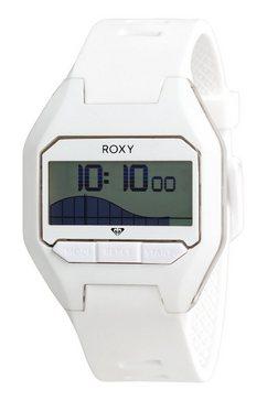 roxy - slimtide - digitaal horloge voor dames wit