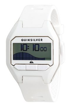 quiksilver - addictiv pro tide - digitaal horloge voor heren wit