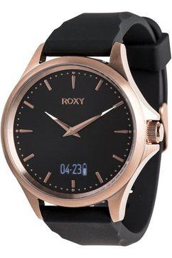 roxy - messenger activ - analoog-digitaal horloge voor dames roze