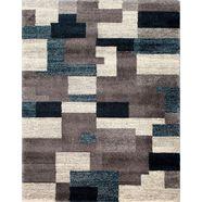 oci die teppichmarke vloerkleed steady allover bijzonder zacht door microvezel, woonkamer grijs