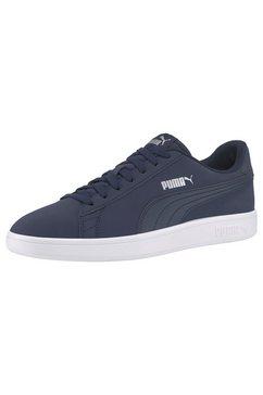 puma sneakers »smash v2 buck« blauw