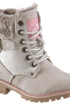 tom tailor hoge veterschoenen grijs