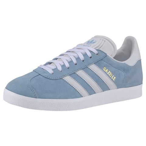 adidas originals Gazelle W sneakers lichtblauw-wit
