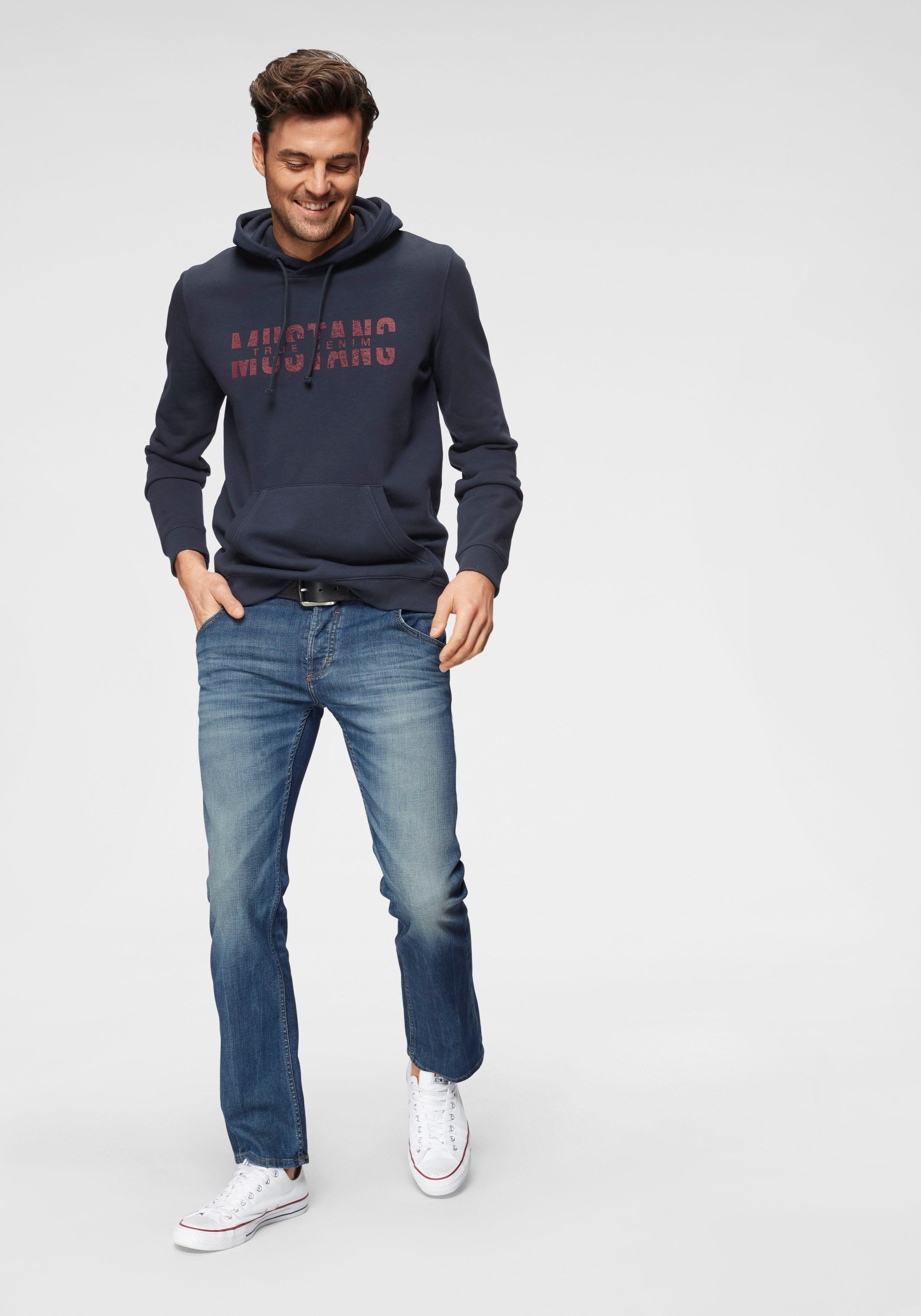 Op zoek naar een MUSTANG straight jeans Michigan in five-pocketsmodel? Koop online bij OTTO
