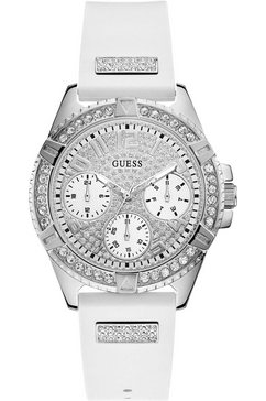 guess multifunctioneel horloge »lady frontier, w1160l4« wit