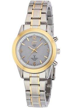 ett radiogestuurd horloge »gobi, els-11266-11me« (set, 2-delig, horloge met snellader) zilver