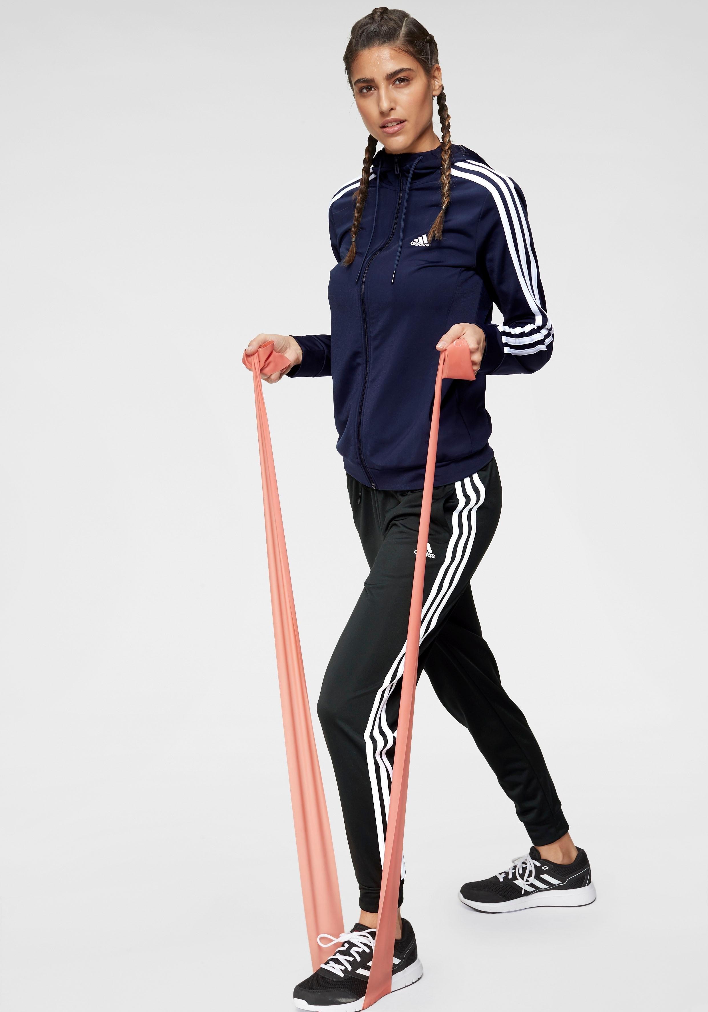 adidas Performance trainingspak »OSR POLYESTER 3 STRIPES TRACKSUIT« (set, 2-dlg.) nu online kopen bij OTTO