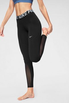 nike functionele tights »w np tght new« zwart