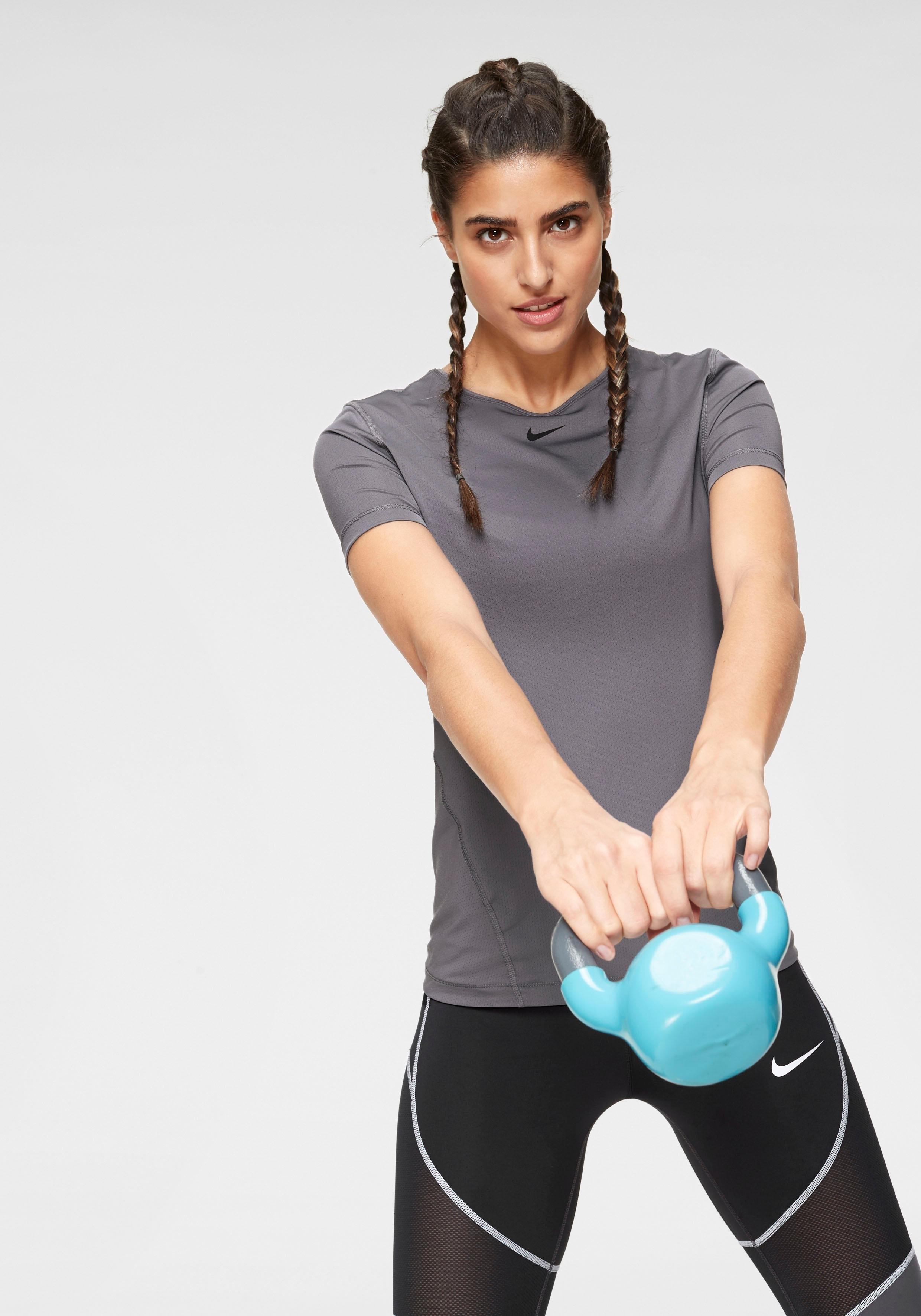 Nike functioneel shirt »W NP TOP SS ALL OVER MESH« voordelig en veilig online kopen