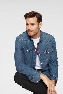 wrangler jeansoverhemd »western shirt« blauw