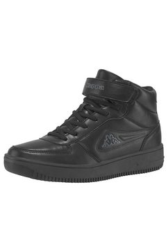 kappa sneakers »bash mid« zwart