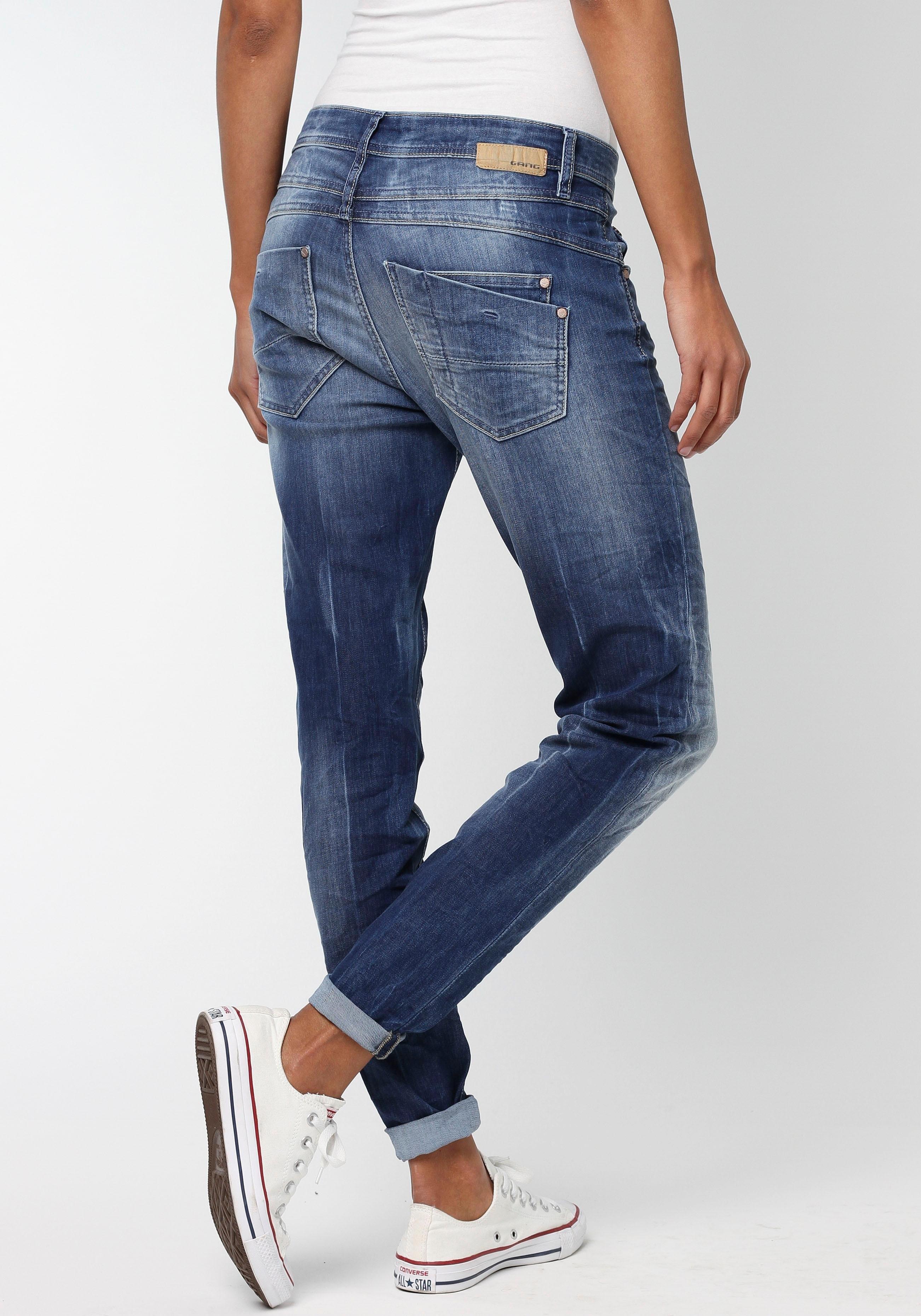GANG slim fit jeans »Amelie Relaxed fit« in de webshop van OTTO kopen