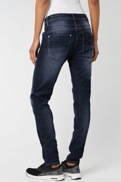 gang slim fit jeans »amelie relaxed fit« blauw