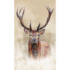 reinders! artprint edelhert beige