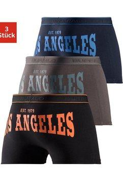 buffalo boxershort met print achter (set, 3 stuks) multicolor