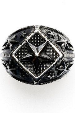 royal ego ring »ster - bling silver, 1718« zwart