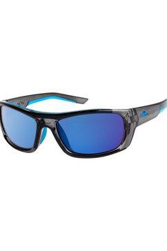 quiksilver zonnebril »knockout« grijs