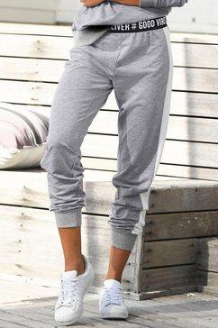 s.oliver red label bodywear sweatbroek grijs