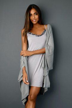 lascana nachthemd grijs
