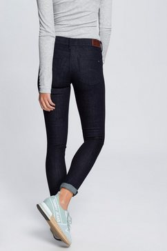 tommy jeans jeans »mid rise skinny nora nrst« blauw