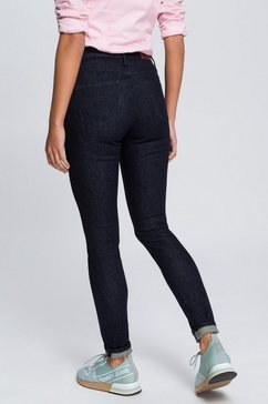 tommy jeans jeans »high rise skinny santana nrst« blauw