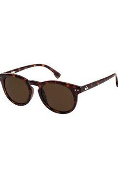 quiksilver - joshua - zonnebril voor jongens bruin