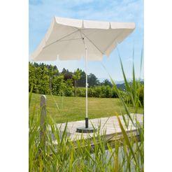 schneider parasols parasol »ibiza«, 150 g - m², 180x120 cm, zonder paraplubak beige