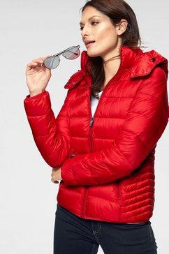 street one gewatteerde jas »tilda« rood