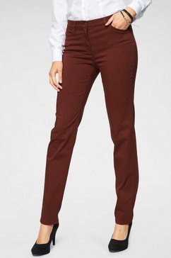 toni slim fit jeans »perfect shape slim« rood