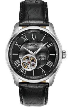 bulova automatisch horloge »wilton, 96a217« zwart