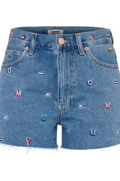 tommy jeans short blauw