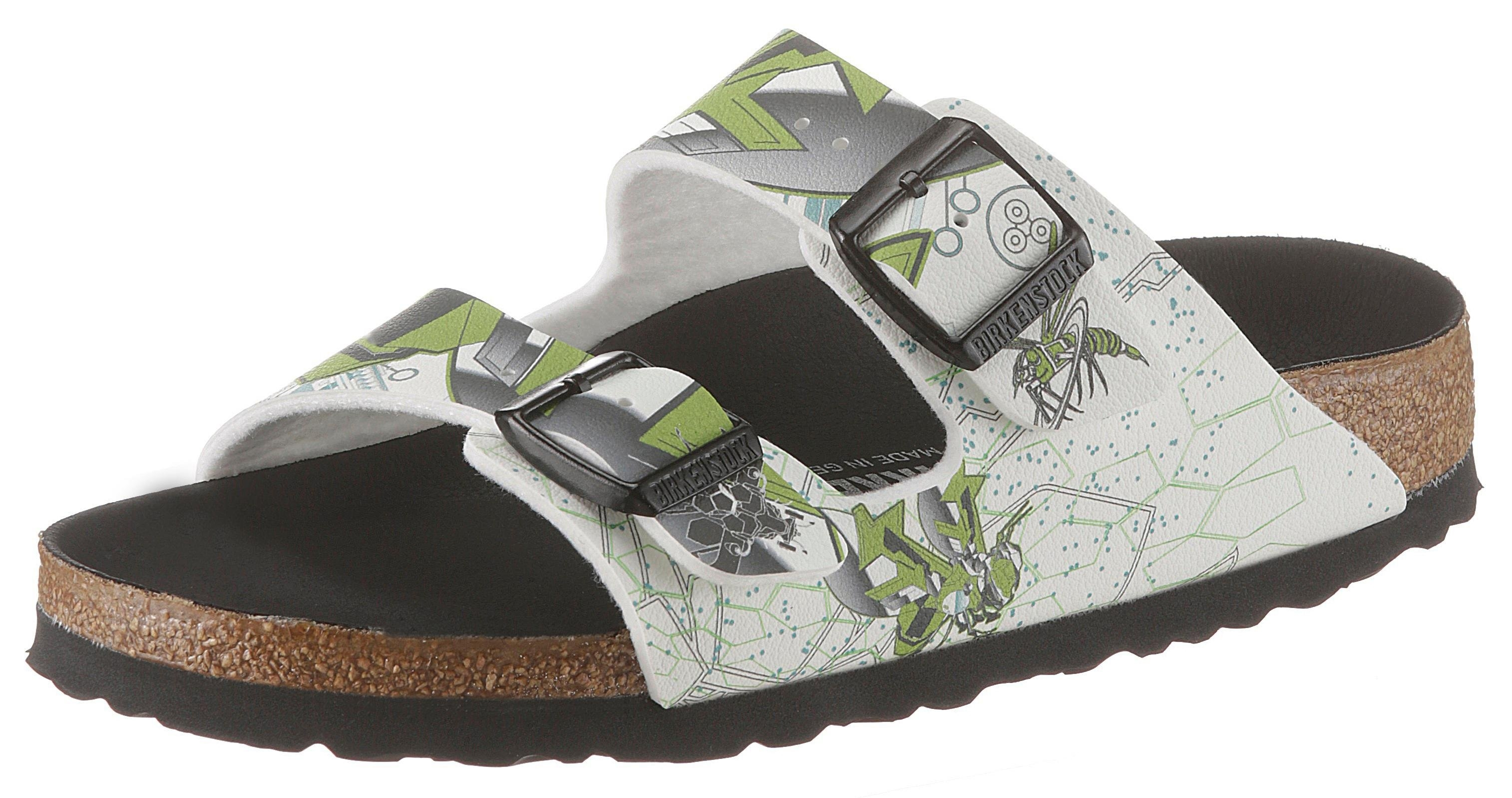 Birkenstock slippers »ARIZONA KIDS NIGHT GLOW INSECT« - gratis ruilen op otto.nl