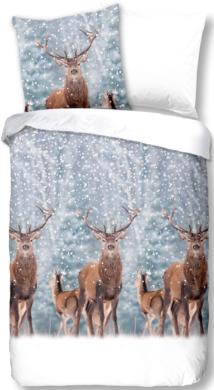 good morning tweezijdig te gebruiken overtrekset »Deer« - gratis ruilen op otto.nl