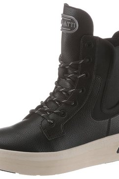 bugatti hoge veterschoenen zwart