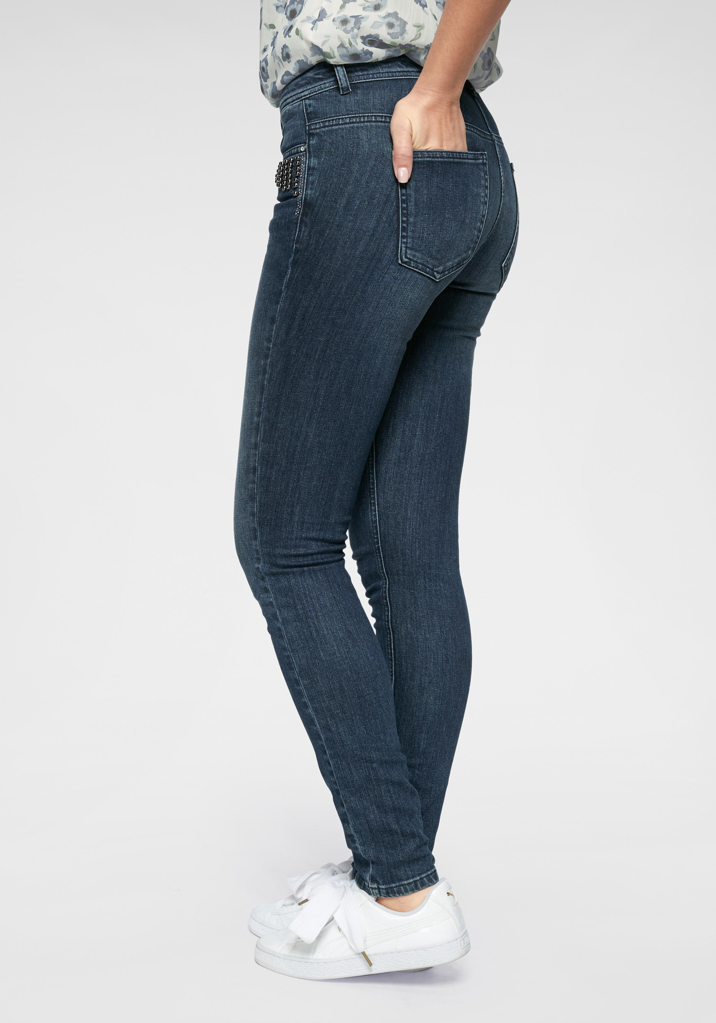 Zabaione skinny fit jeans »YVETTE« nu online bestellen
