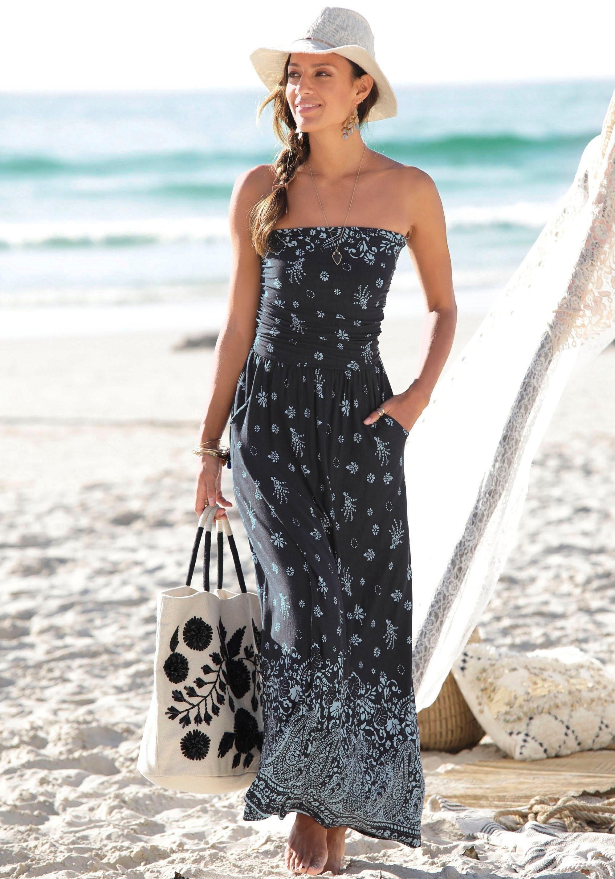 s.Oliver RED LABEL Beachwear s.Oliver Beachwear maxi-jurk veilig op otto.nl kopen