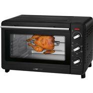clatronic multifunctionele oven mbg 3728 met draaispit zwart
