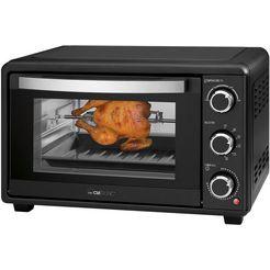 clatronic multifunctionele oven mbg 3727 met draaispit zwart