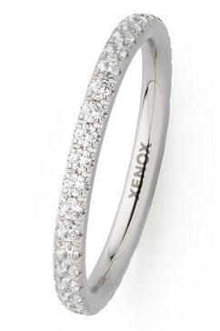 xenox ring xenox  friends, x2299 met zirkoon zilver